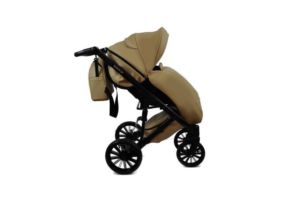 Детская коляска Bruca Onyx 2 в 1 (Темно-бежевый)