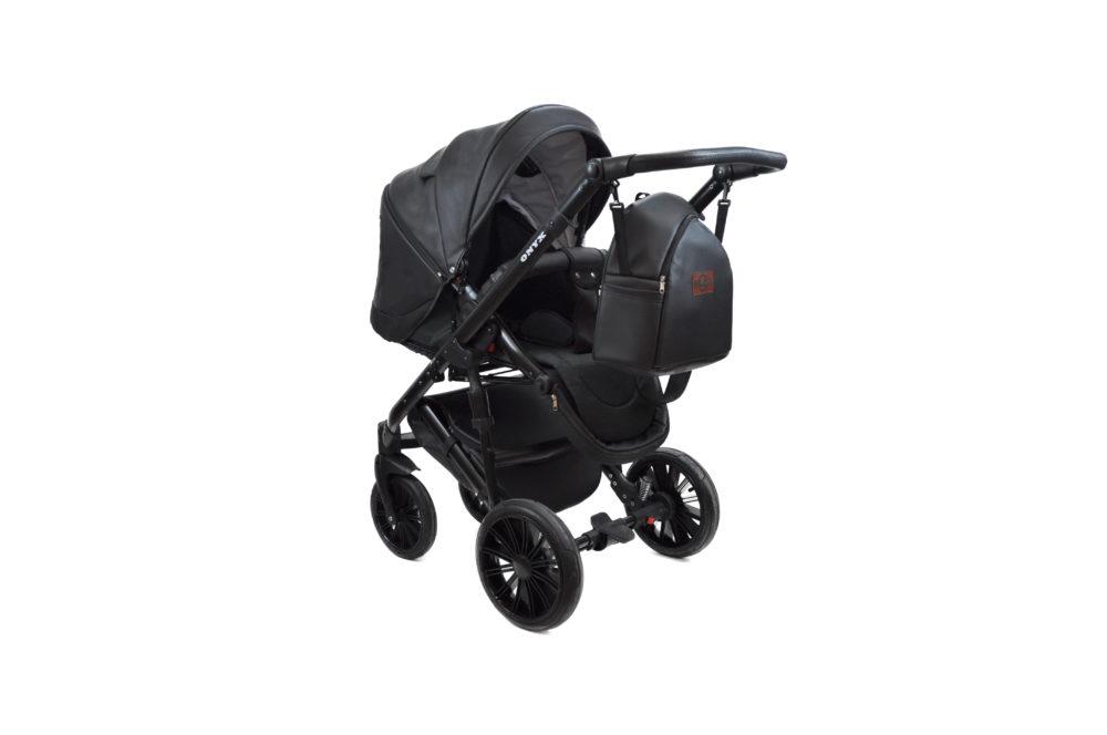 Детская коляска Bruca Onyx 2 в 1 (Черный)