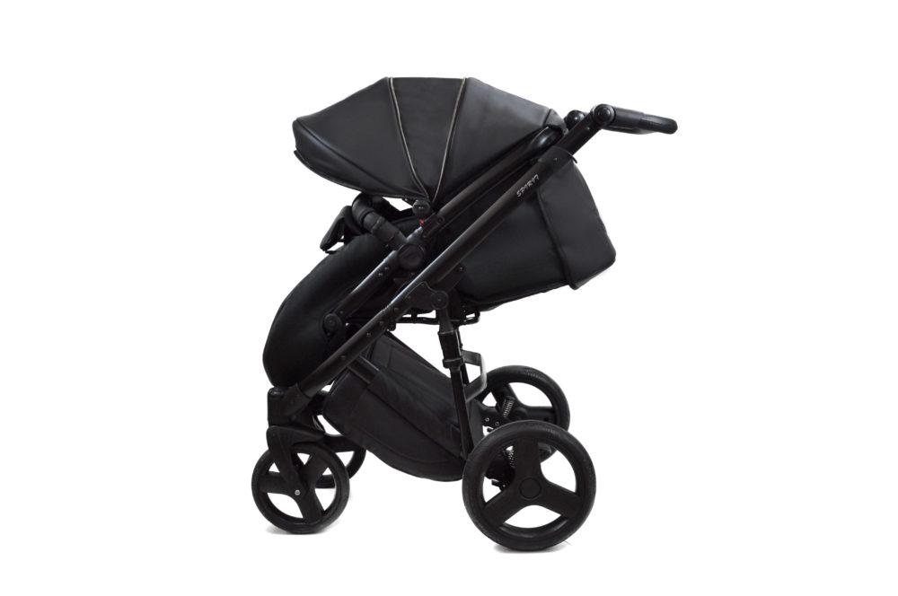 Детская коляска Bruca Spirit 2 в 1 (Черный)