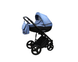 Детская коляска Bruca Spirit 2 в 1 (Темно-голубой)
