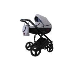 Детская коляска Bruca Spirit 2 в 1 (Серый)