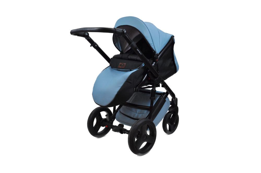 Детская коляска Bruca Spirit 2 в 1 (Голубой)