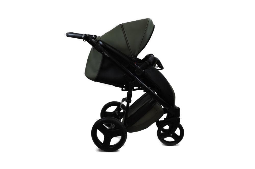 Детская коляска Bruca Spirit 2 в 1 (Темно-зеленый)