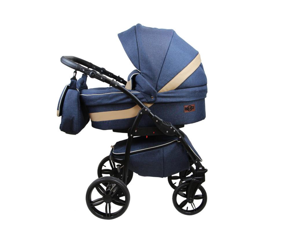 Детская коляска Bruca Rose 2 в 1 (Синий)