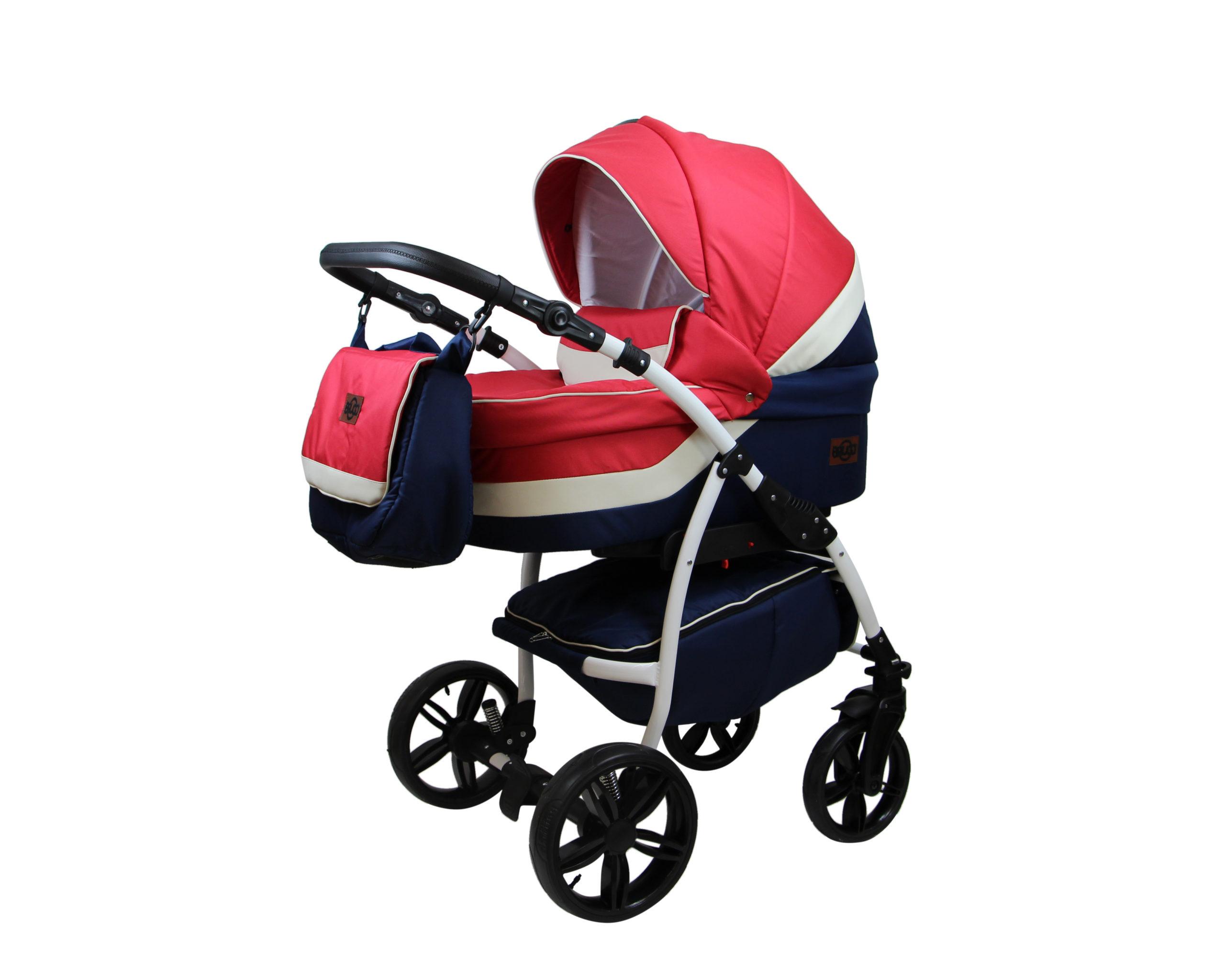 Детская коляска Bruca Rose 2 в 1 (Красный)