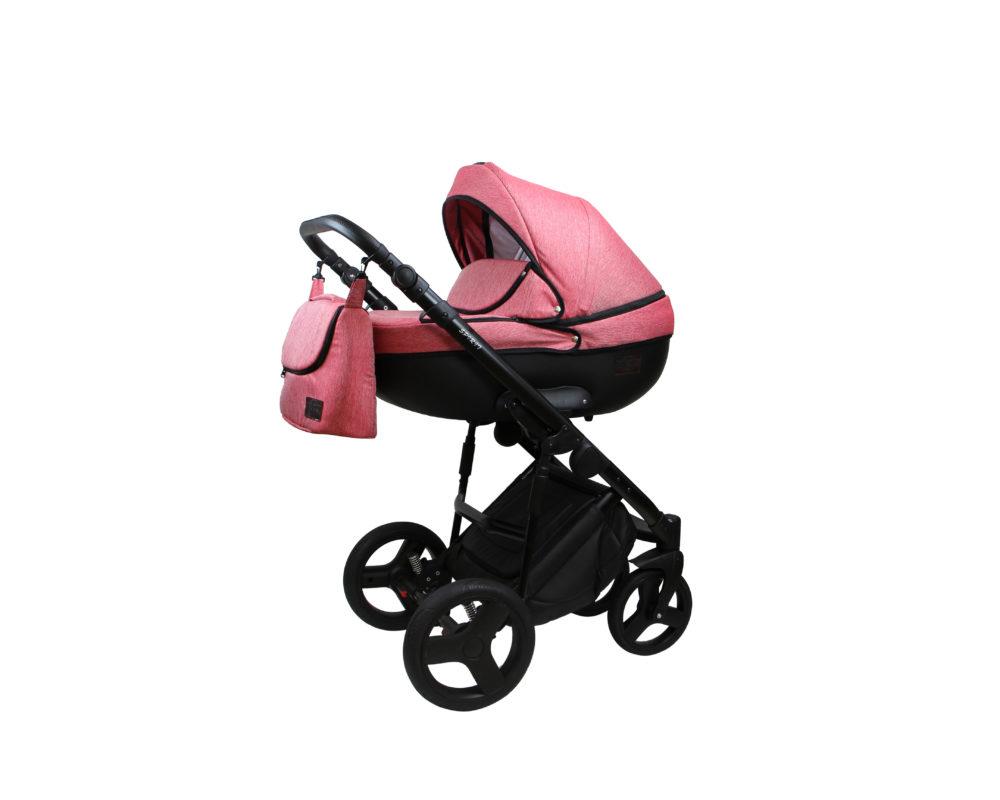 Детская коляска Bruca Spirit 2 в 1 (Розовый)
