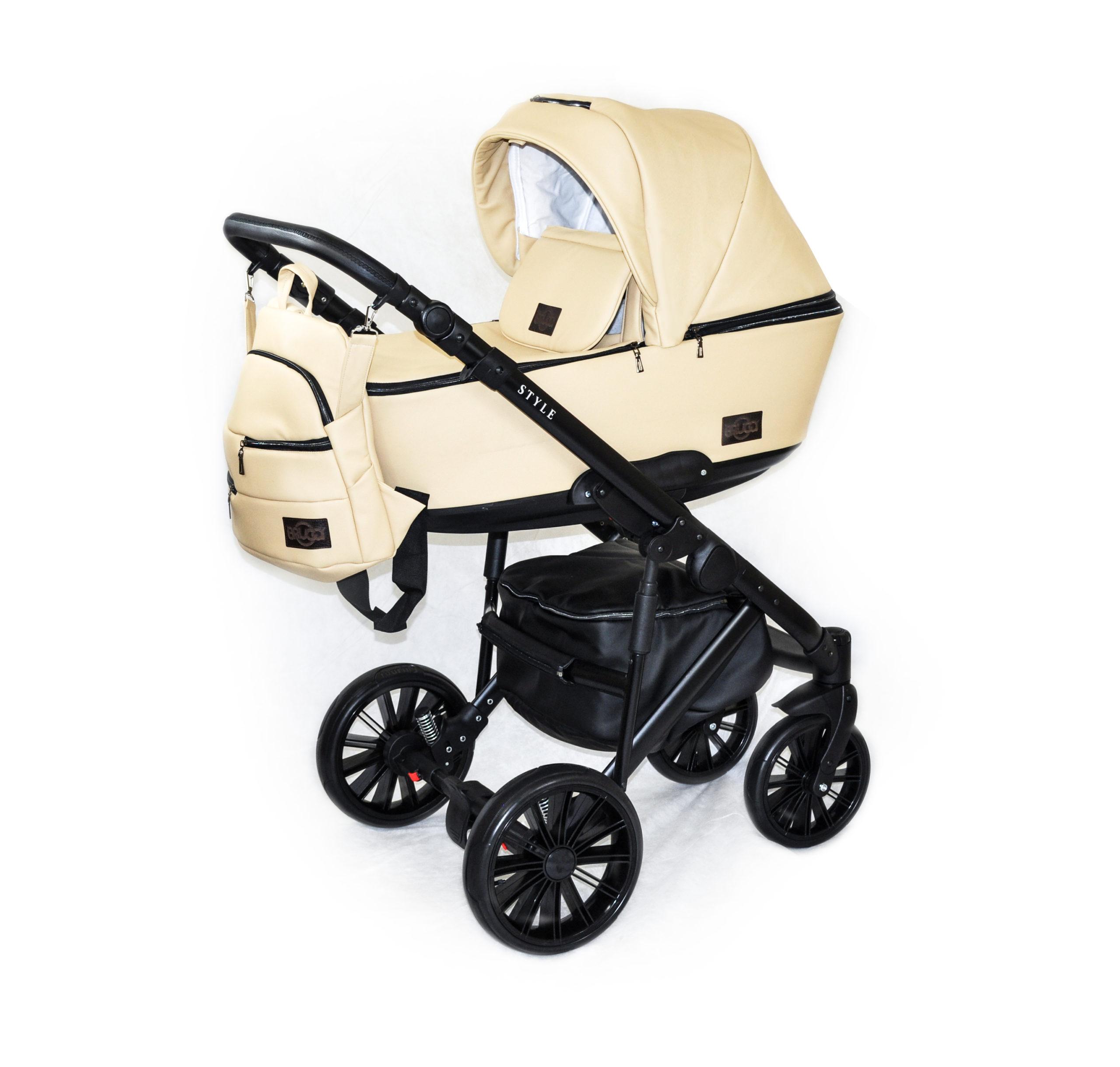 Детская коляска Bruca Style 2 в 1 (Бежевый)