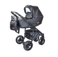 Детская коляска Bruca Style 2 в 1 (Серо-черный)