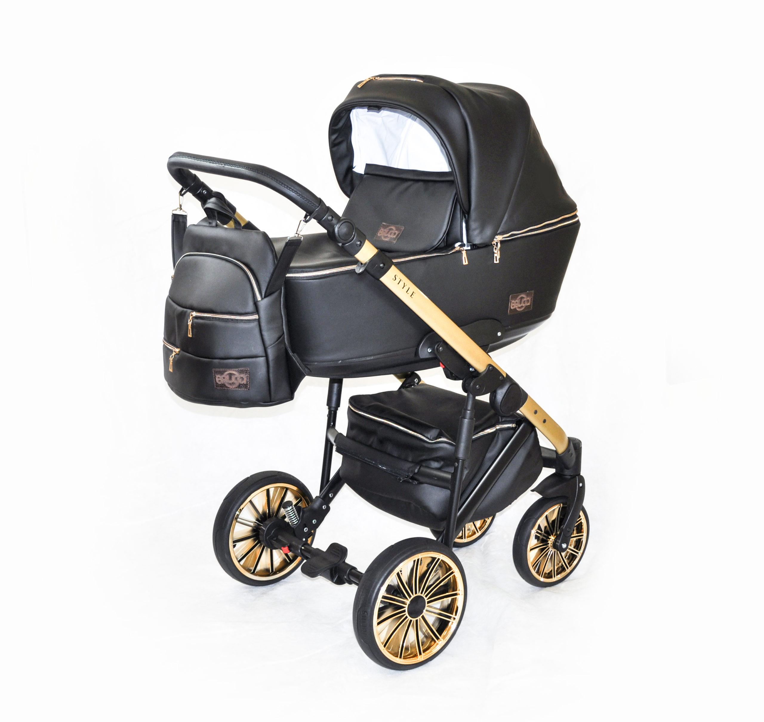 Детская коляска Bruca Style 2 в 1 (Черный)