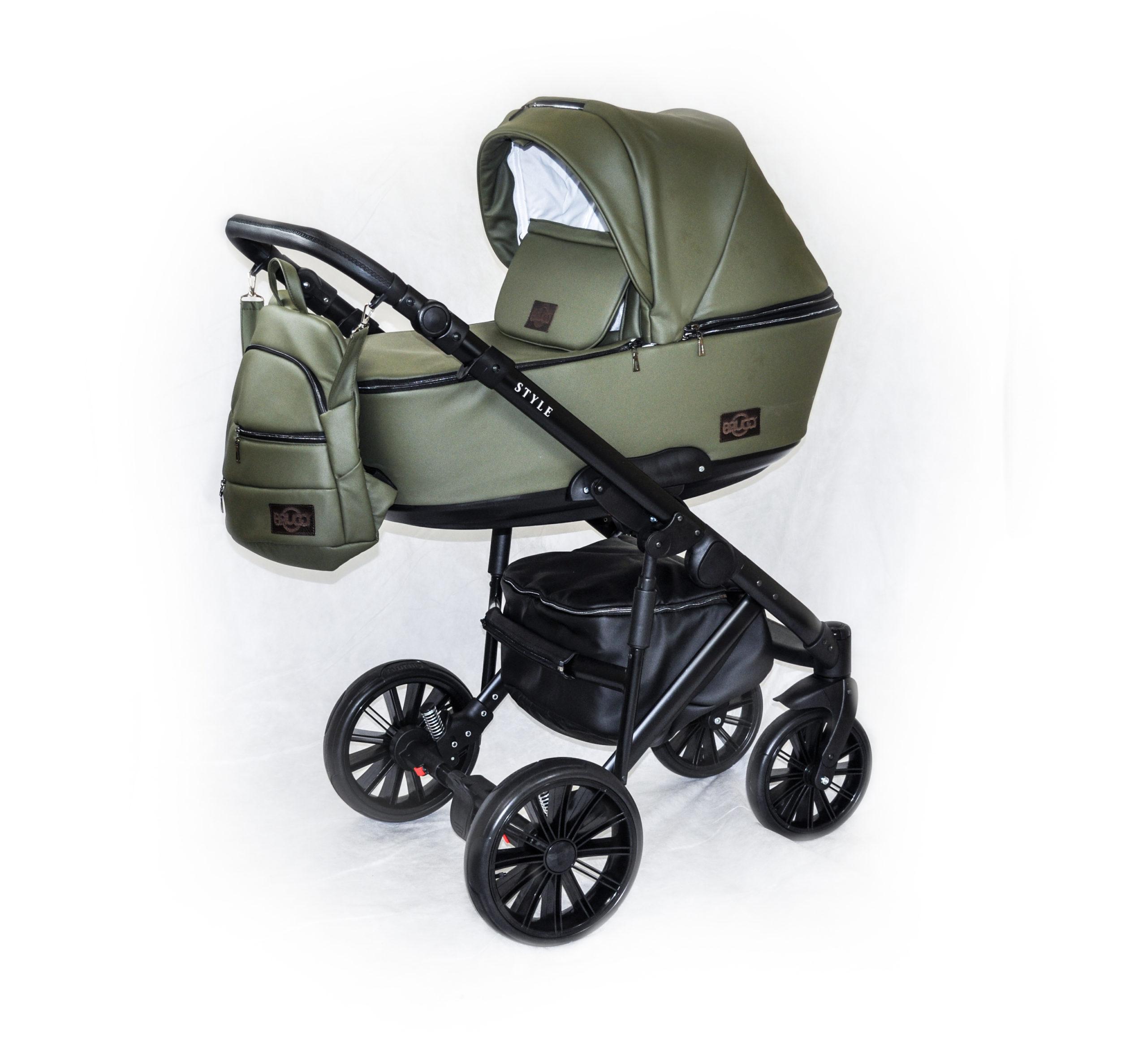 Детская коляска Bruca Style 2 в 1 (Зеленый)