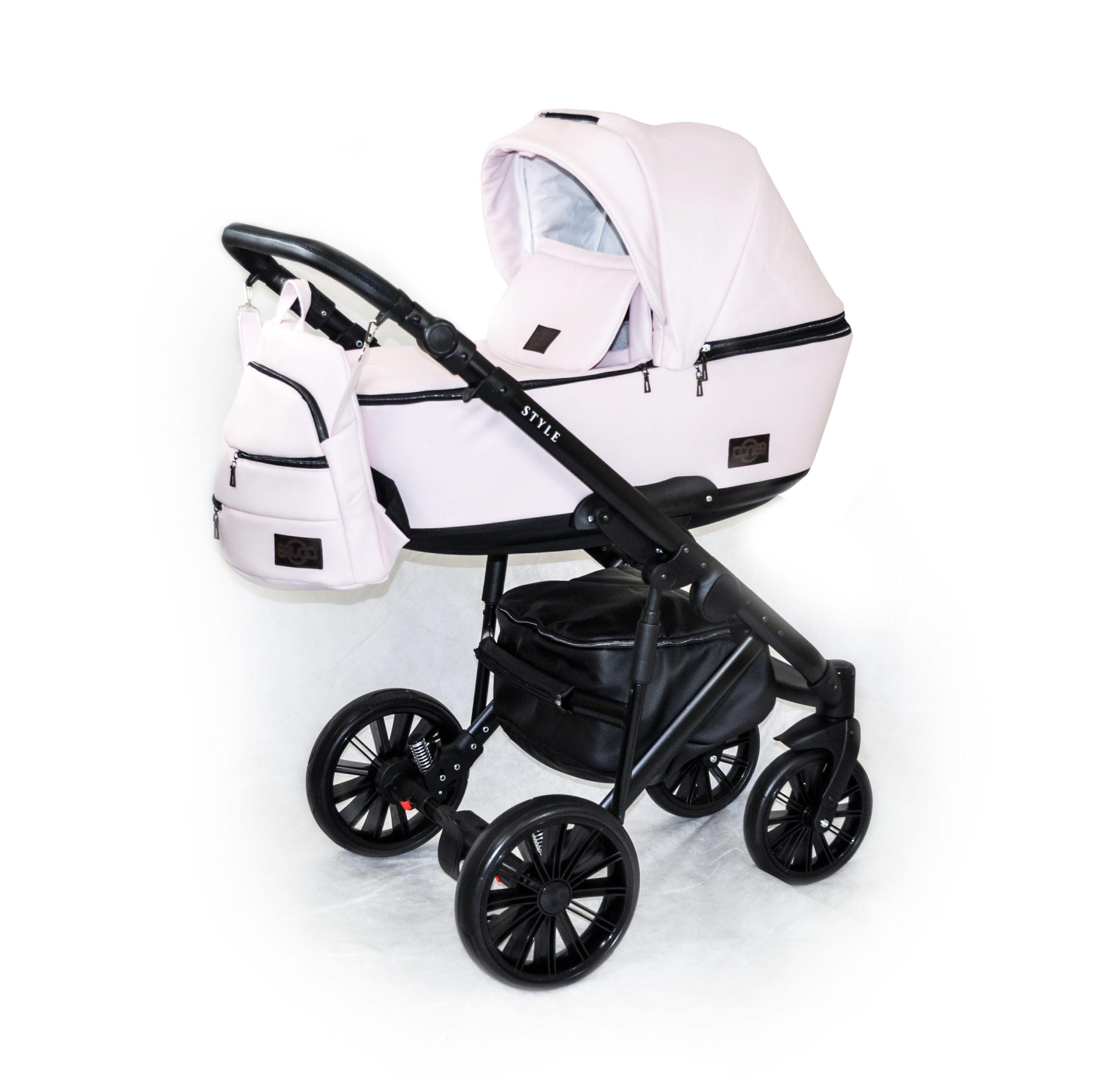 Детская коляска Bruca Style 2 в 1 (Кремовый)