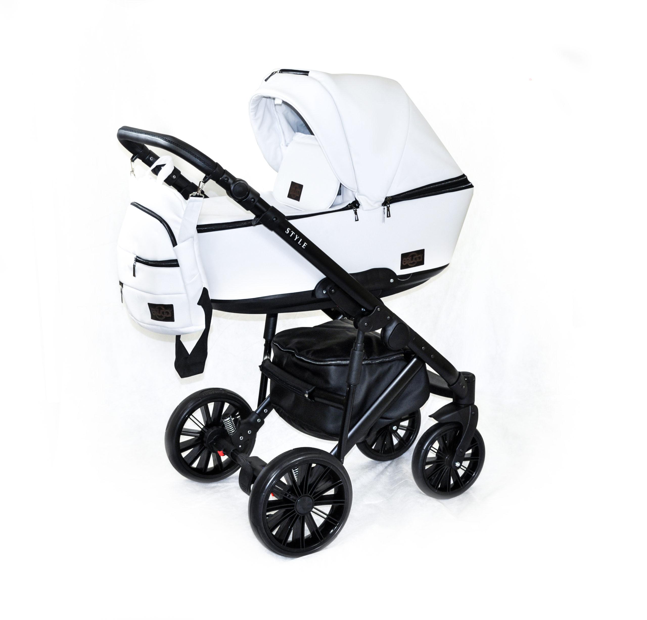 Детская коляска Bruca Style 2 в 1 (Белый)