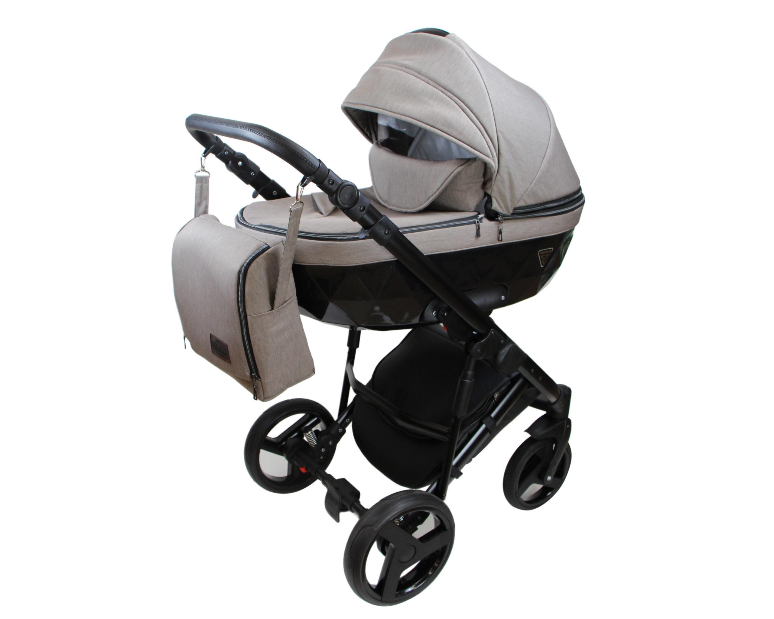 Детская коляска Bruca Vegas 2 в 1 (Серый/черный)