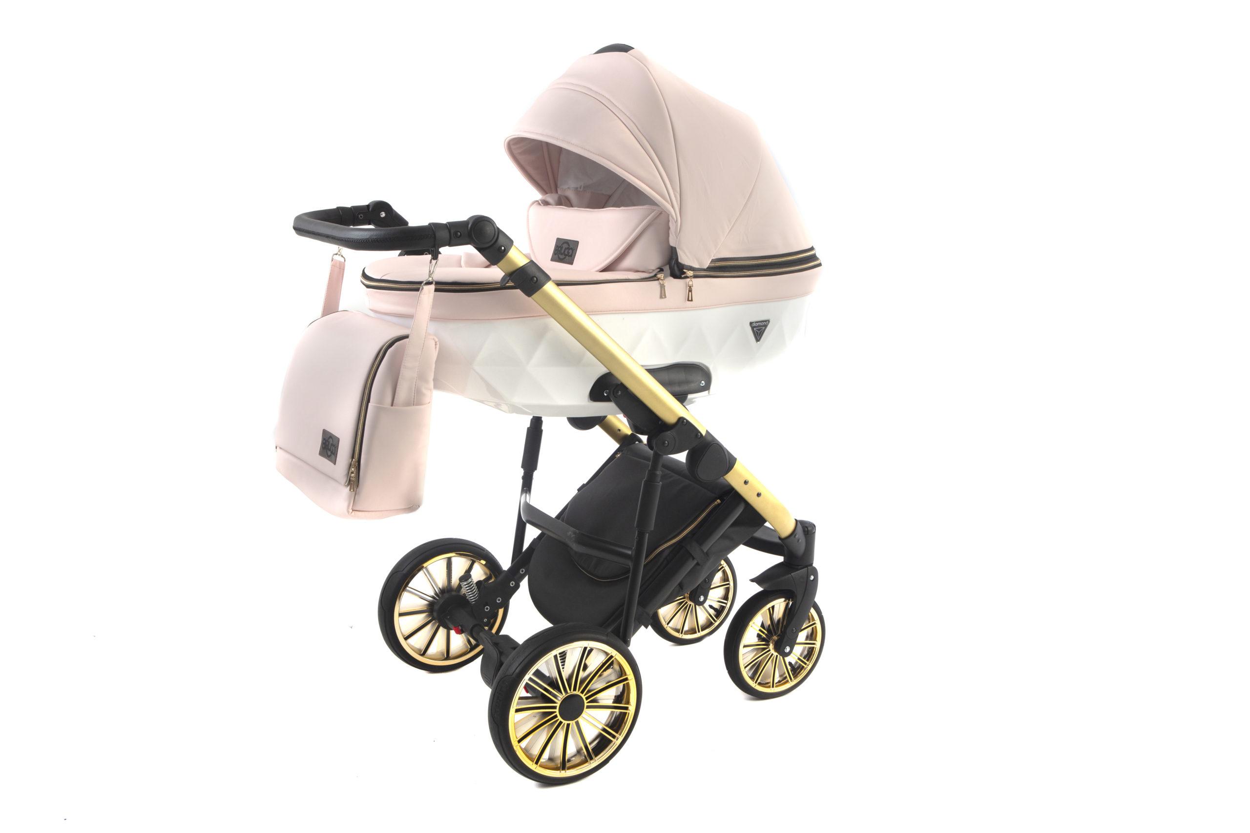 Детская коляска Bruca Vegas 2 в 1 (Розовый)
