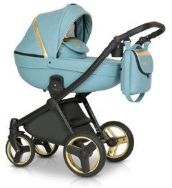 Детская коляска Verdi Mirage Soft 3 в 1 (Голубой)