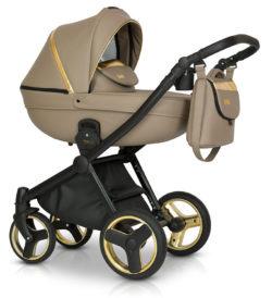 Детская коляска Verdi Mirage Soft 3 в 1 (Бежевый)