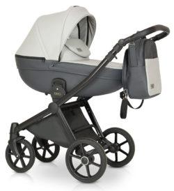 Детская коляска Verdi Mirage Soft 3 в 1 (Белый/серый)