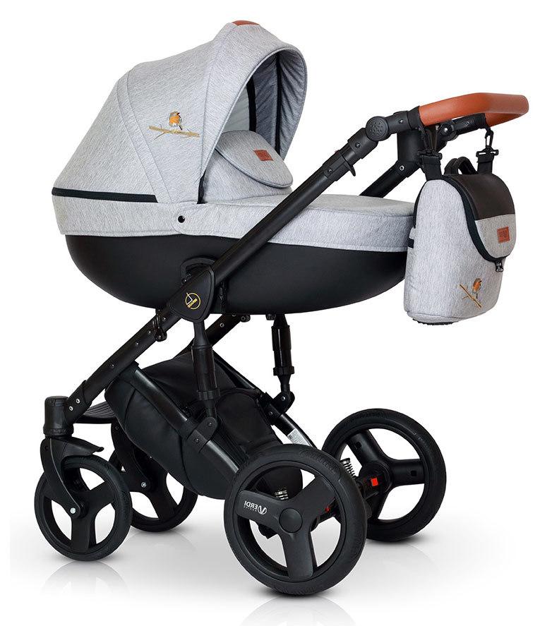 Детская коляска Verdi Mirage Limited 3 в 1 (Серый)