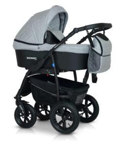 Детская коляска Verdi Sonic Plus 3 в 1 (Светло-серый)