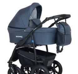 Детская коляска Verdi Sonic Plus 3 в 1 (Джинсовый)