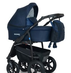 Детская коляска Verdi Sonic Plus 3 в 1 (Синий)