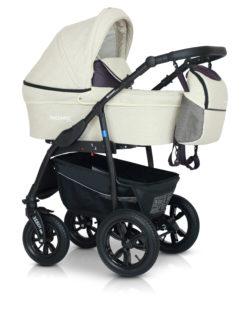 Детская коляска Verdi Sonic Plus 3 в 1 (Белый)