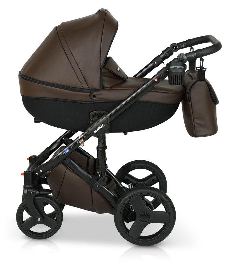 Детская коляска Verdi Mirage 3 в 1 (Темно-коричневый)