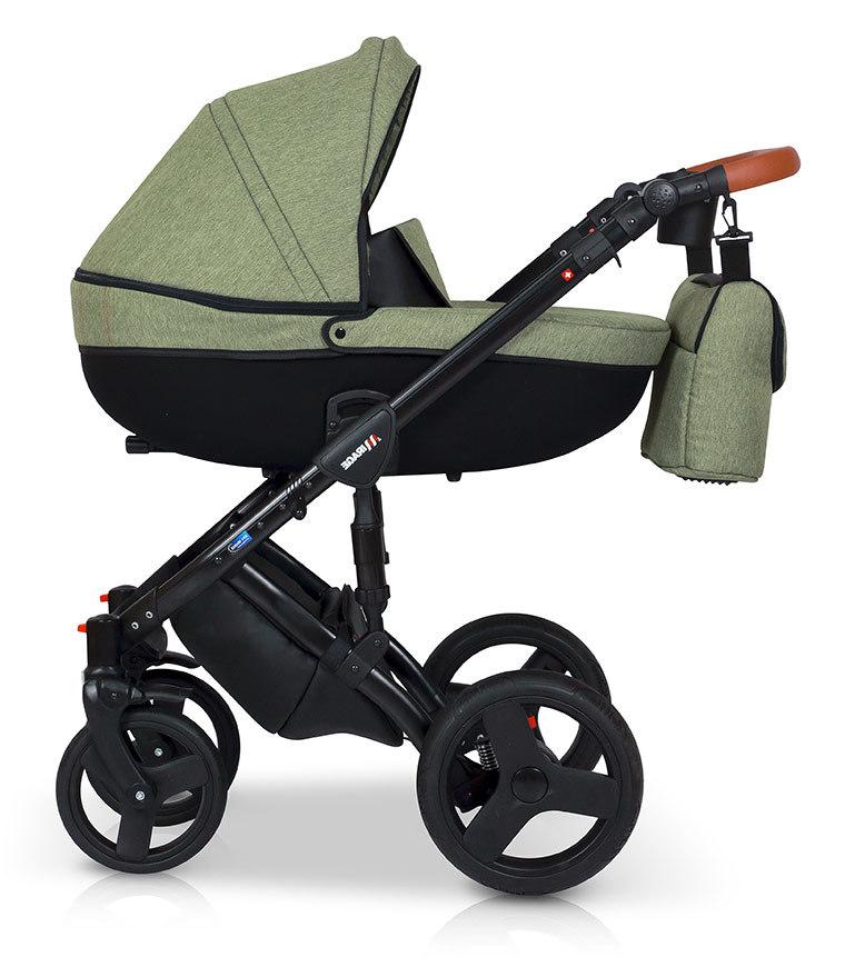 Детская коляска Verdi Mirage 3 в 1 (Зеленый)