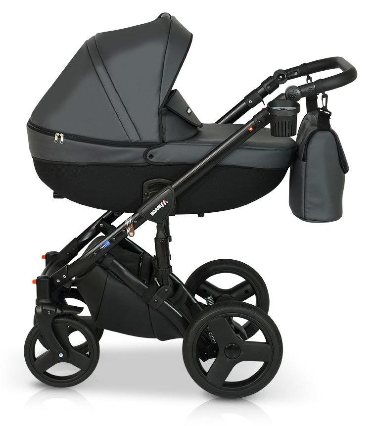 Детская коляска Verdi Mirage 3 в 1 (Серо-черный)