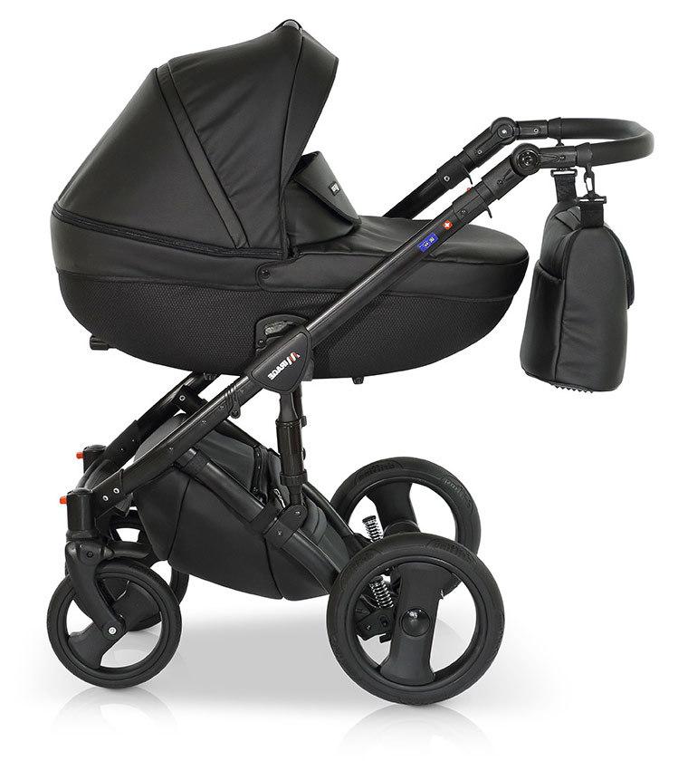 Детская коляска Verdi Mirage 3 в 1 (Черный)