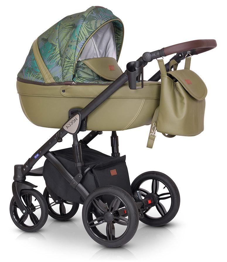 Детская коляска Verdi Mocca 3 в 1 (Хаки)
