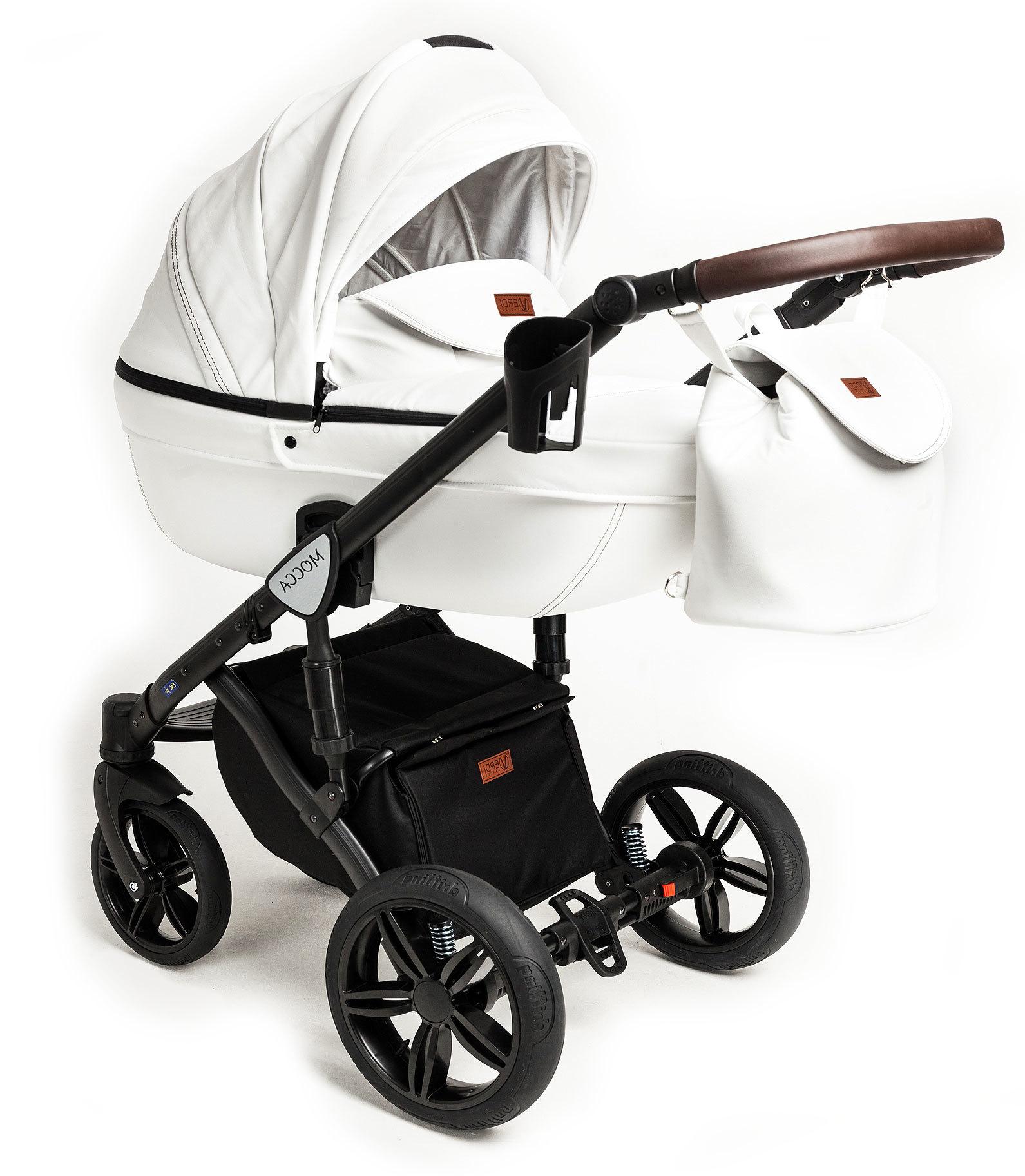 Детская коляска Verdi Mocca 3 в 1 (Белый)