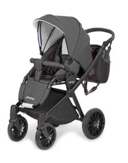 Детская коляска Verdi Sonic Soft 3 в 1 (Черный)