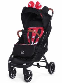 Прогулочная коляска Jetem Yoya Grand, черное шасси (Черный/красный)