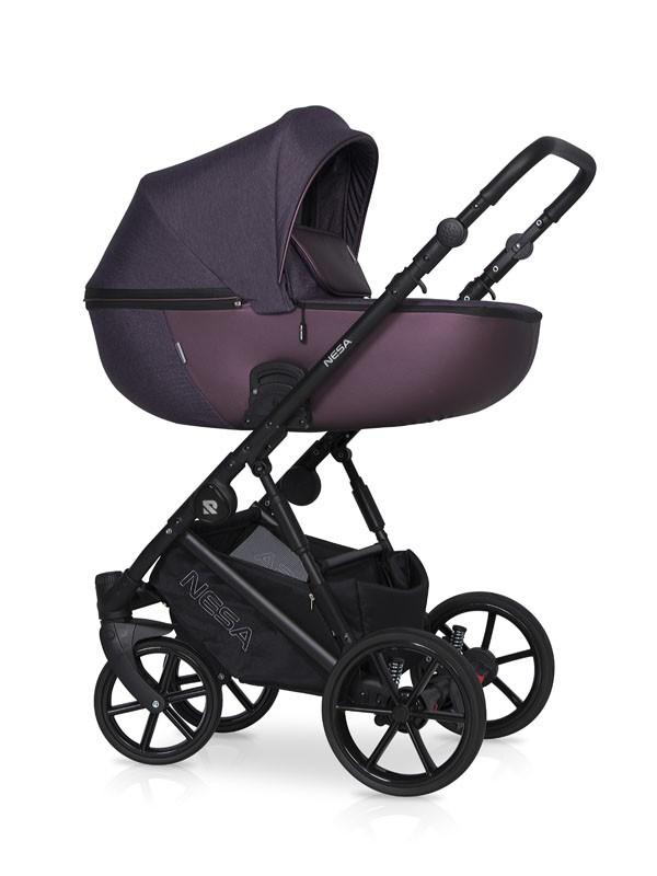Детская коляска Riko Nesa 2 в 1 (Фиолетовый)