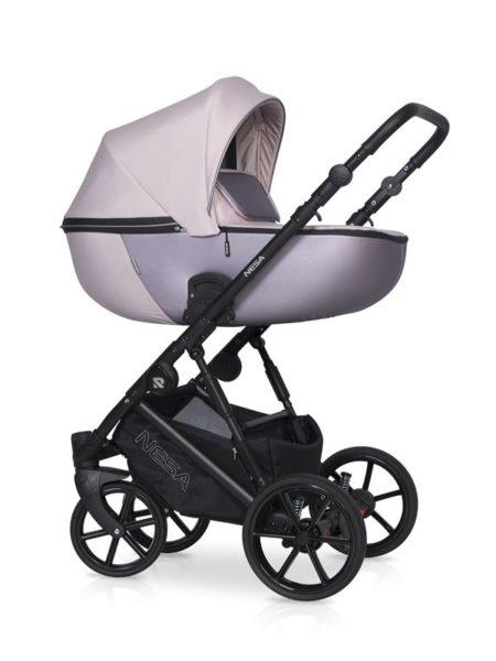 Детская коляска Riko Nesa 2 в 1 (Розовый)