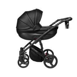 Детская коляска Noordline Оlivia Premium Sport  2 в 1 КОЖА (Черный)
