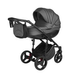 Детская коляска Noordline Оlivia Premium Sport  2 в 1 КОЖА (Серый)