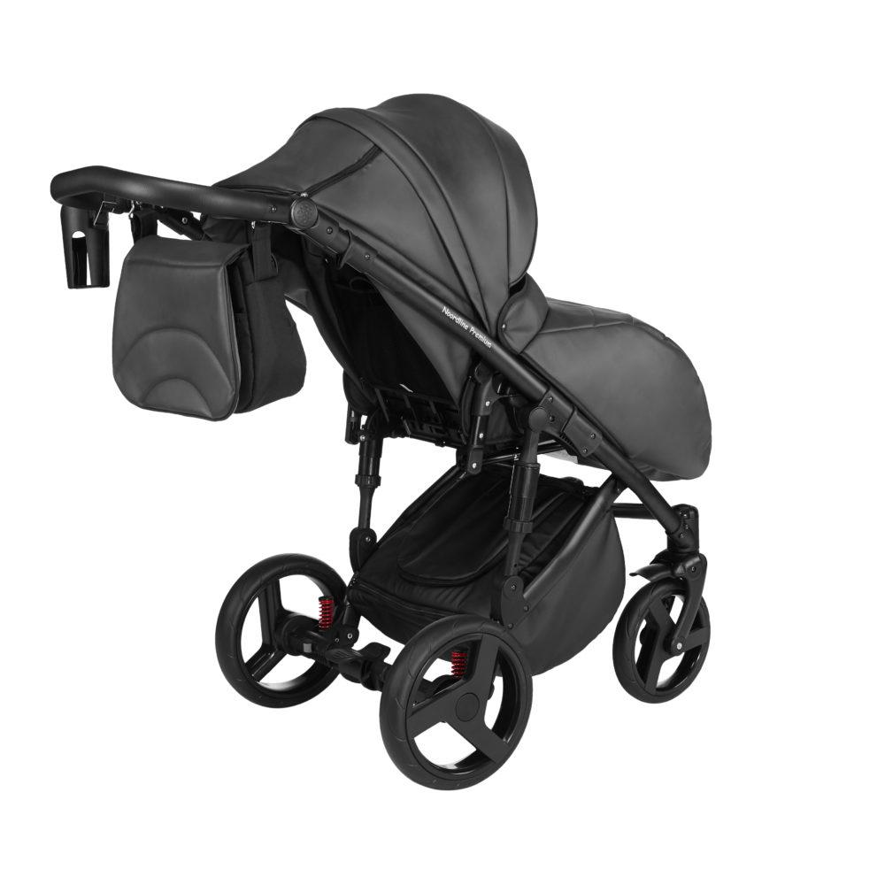 Детская коляска Noordline Оlivia Premium Sport  3 в 1 КОЖА (Серый)