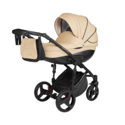 Детская коляска Noordline Оlivia Premium Sport  2 в 1 КОЖА (Бежевый)
