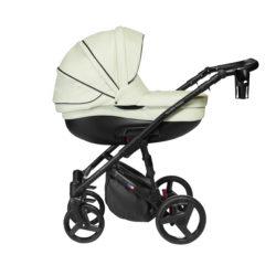 Детская коляска Noordline Оlivia Premium Sport  2 в 1 КОЖА (Белый)