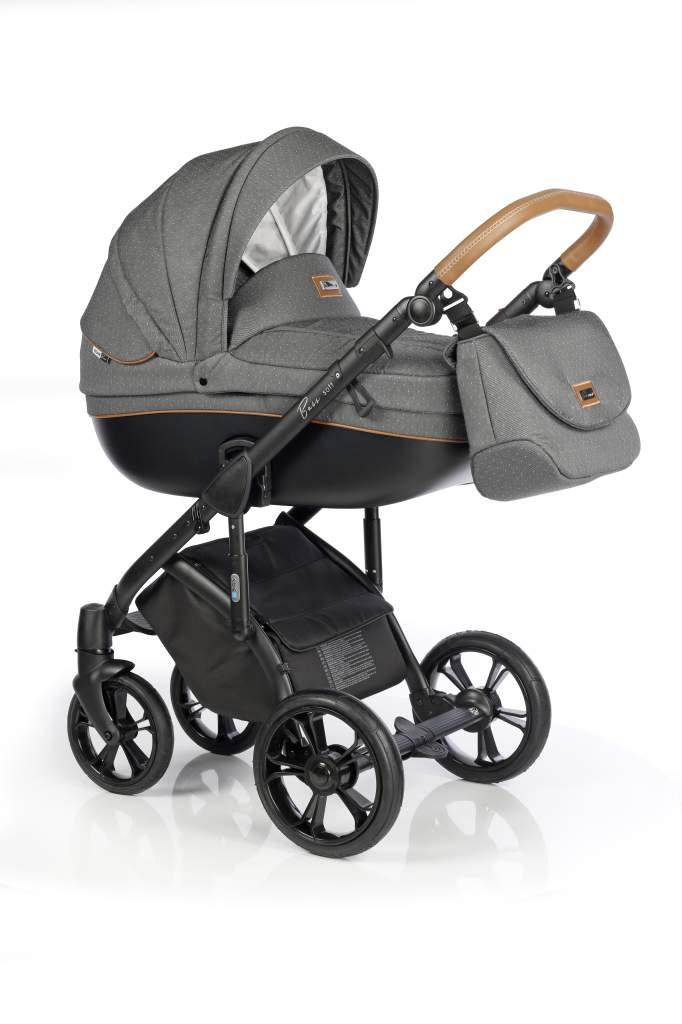 Детская коляска Roan Bass Soft 2 в 1 (Темно-серый)