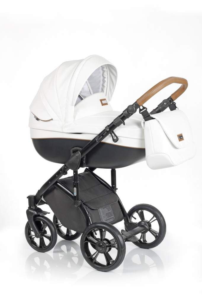 Детская коляска Roan Bass Soft 3 в 1 (Белый)