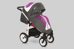 Прогулочная коляска Snolly Jazz Plus (Серый/фиолетовый)