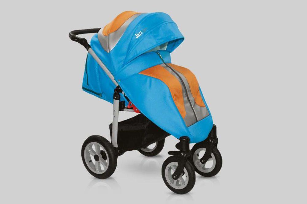 Прогулочная коляска Snolly Jazz Plus (Голубой)