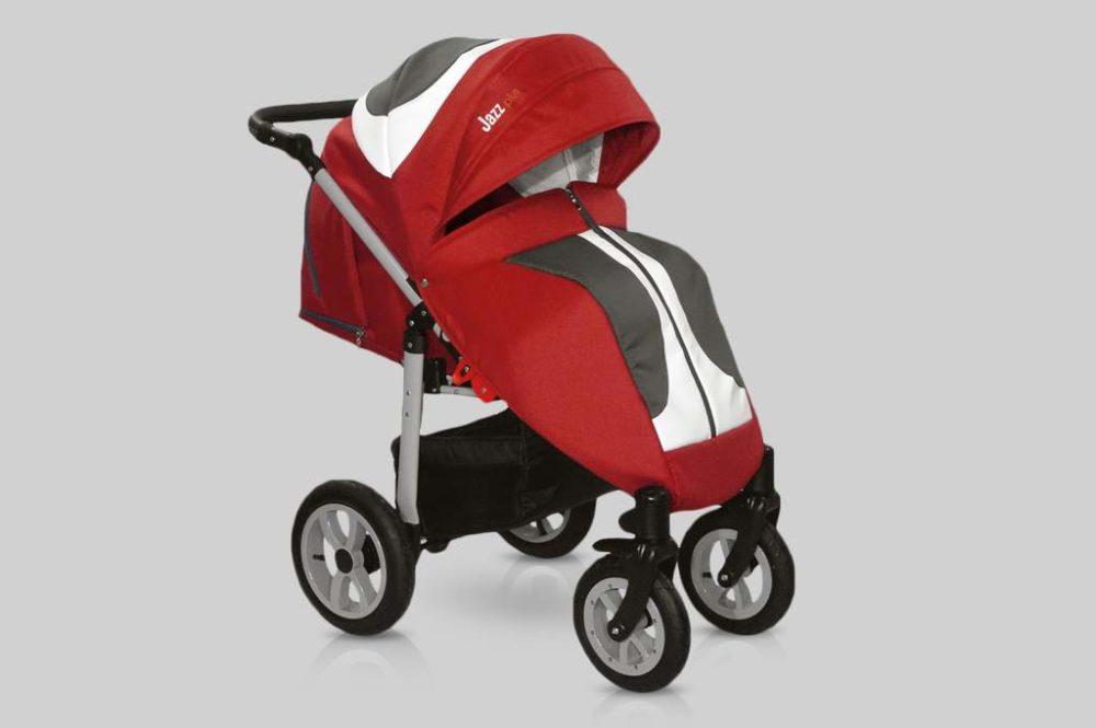 Прогулочная коляска Snolly Jazz Plus (Красный)