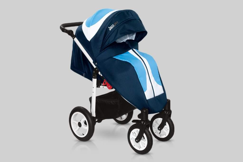 Прогулочная коляска Snolly Jazz Plus (Синий)