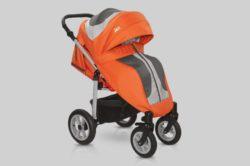 Прогулочная коляска Snolly Jazz Plus (Оранжевый)