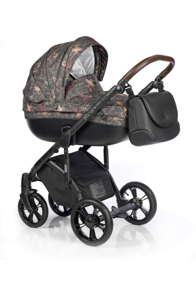 Детская коляска Roan Bass Soft 3 в 1 (Разноцветный)