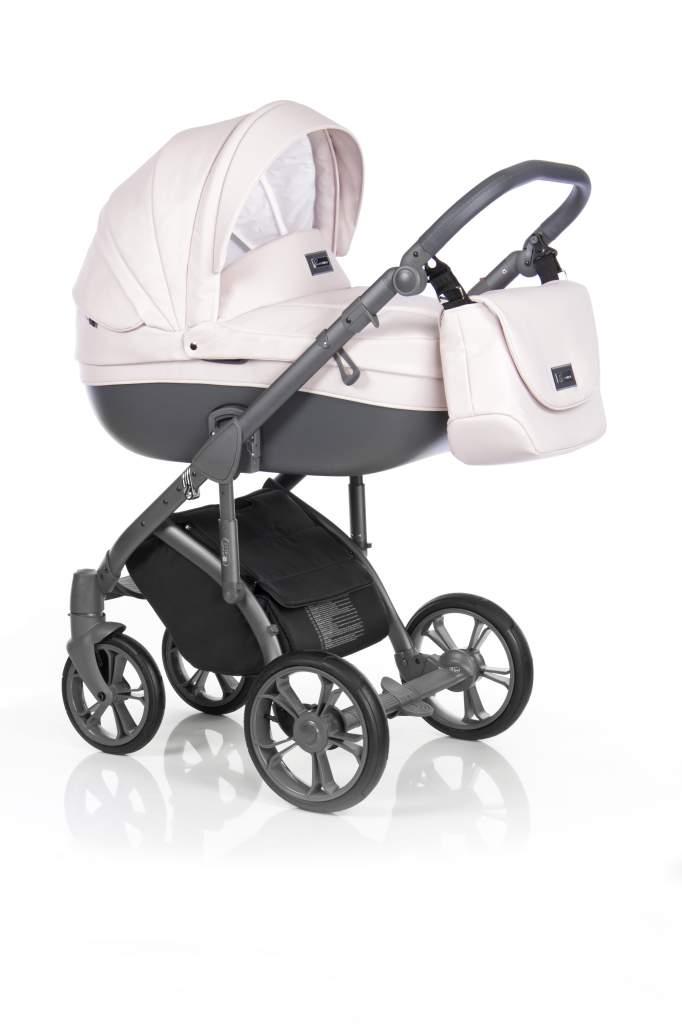 Детская коляска Roan Bass Soft 2 в 1 (Розовый)